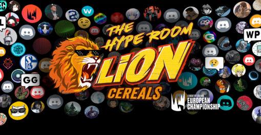 Hype Room - LEC Discord Lion Cereals x Riot Games